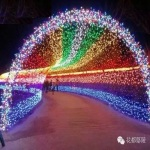 Spatio-Temporal-Tunnel-Made-From-LED-String-Light